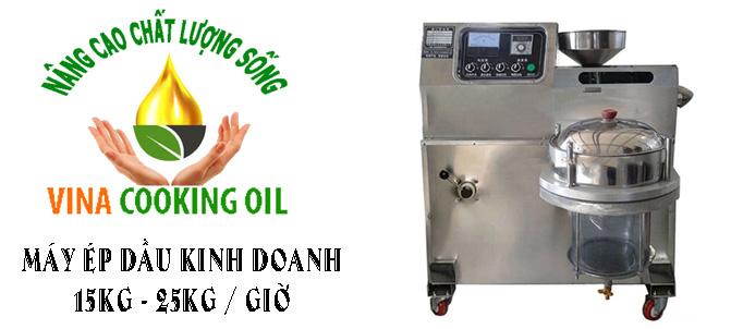 máy ép dầu lạc công suất lớn bán tại thanh hóa