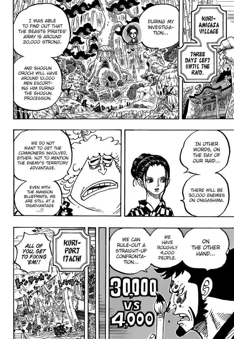 One Piece Manga Chapter 955 - Image 008