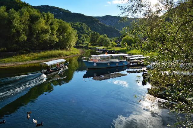 Самые красивые места Черногории. река Црноевича