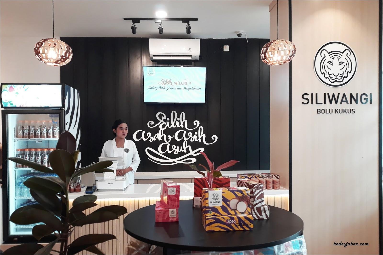 Store Resmi Siliwangi Bolu Kukus Kini Hadir di Bandung
