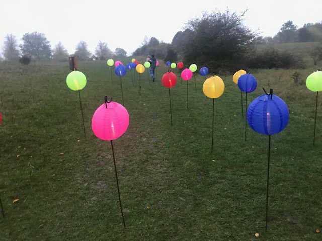 Tring Park, Festival of Light, Autumn,