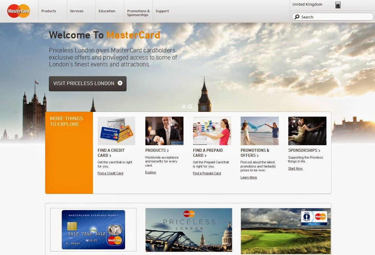 MasterCard Screen