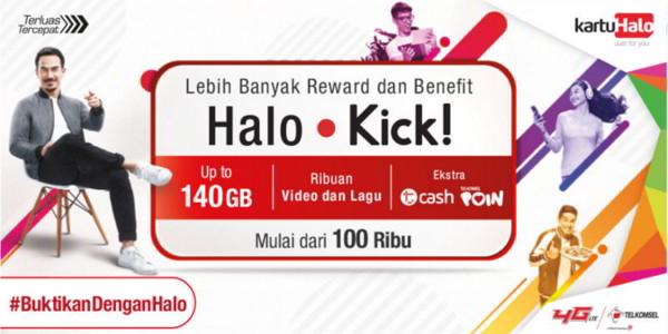 Cara Mengaktifkan Paket Halo Kick Benefit Premium