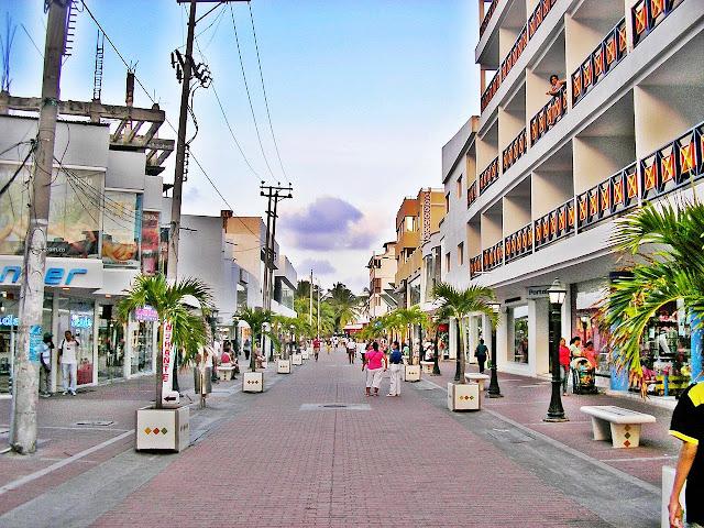 Paseo Peatonal em San Andrés
