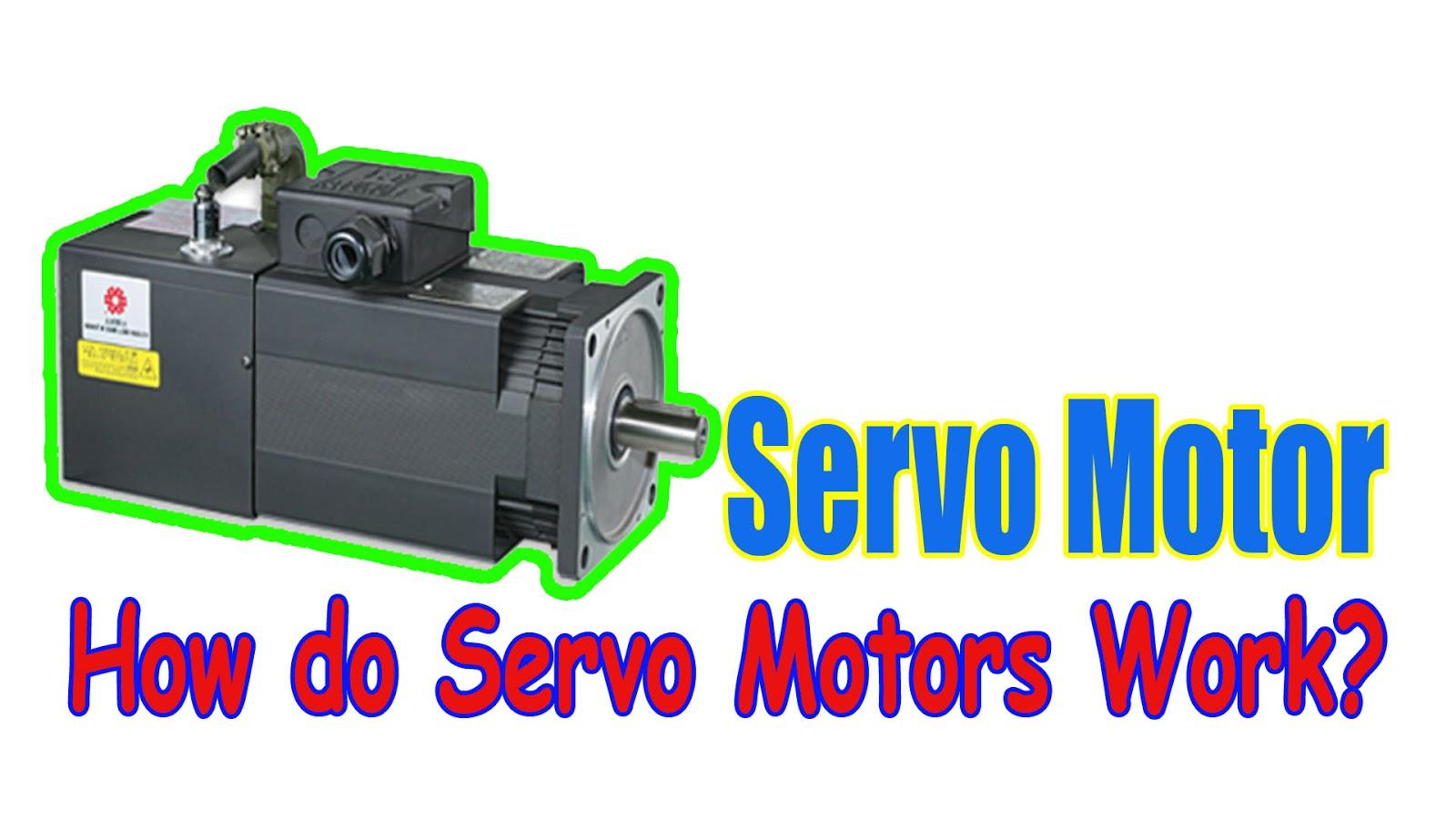 Servo motor how do servo motors work for Types of servo motor