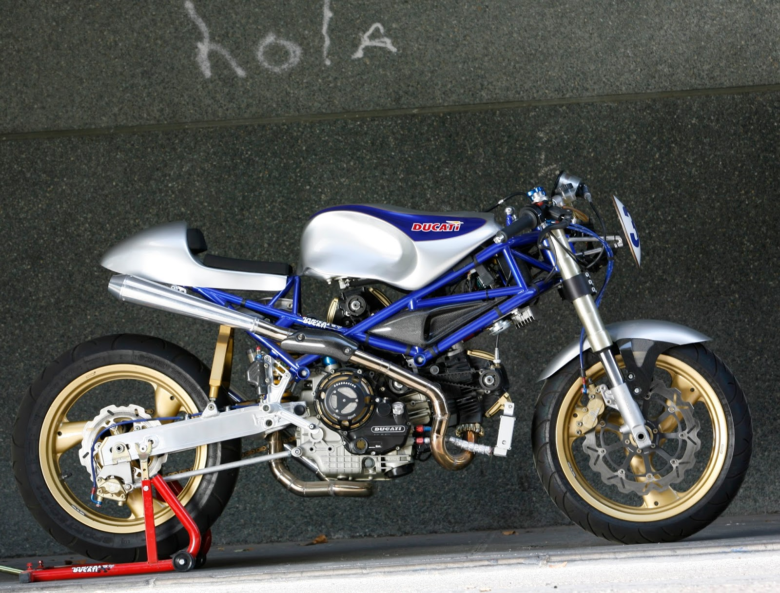hight resolution of the old blue making of http www radicalducati com index php page old blue