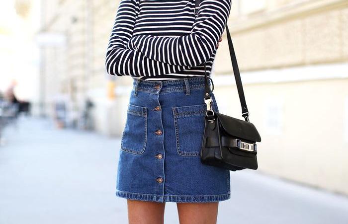 Moda: Como Usar Saia Jeans