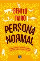"""Portada del libro """"Persona normal"""", de Benito Taibo"""