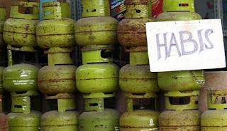 Gas Melon 3 Kg, Langka di Patamuan
