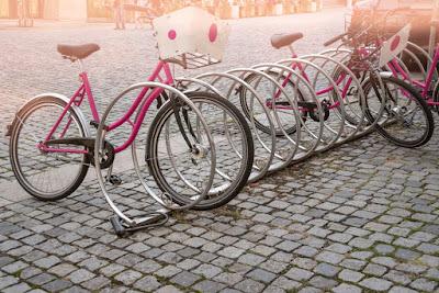 Aparcamiento bicicletas de alquiler en Reikiavik