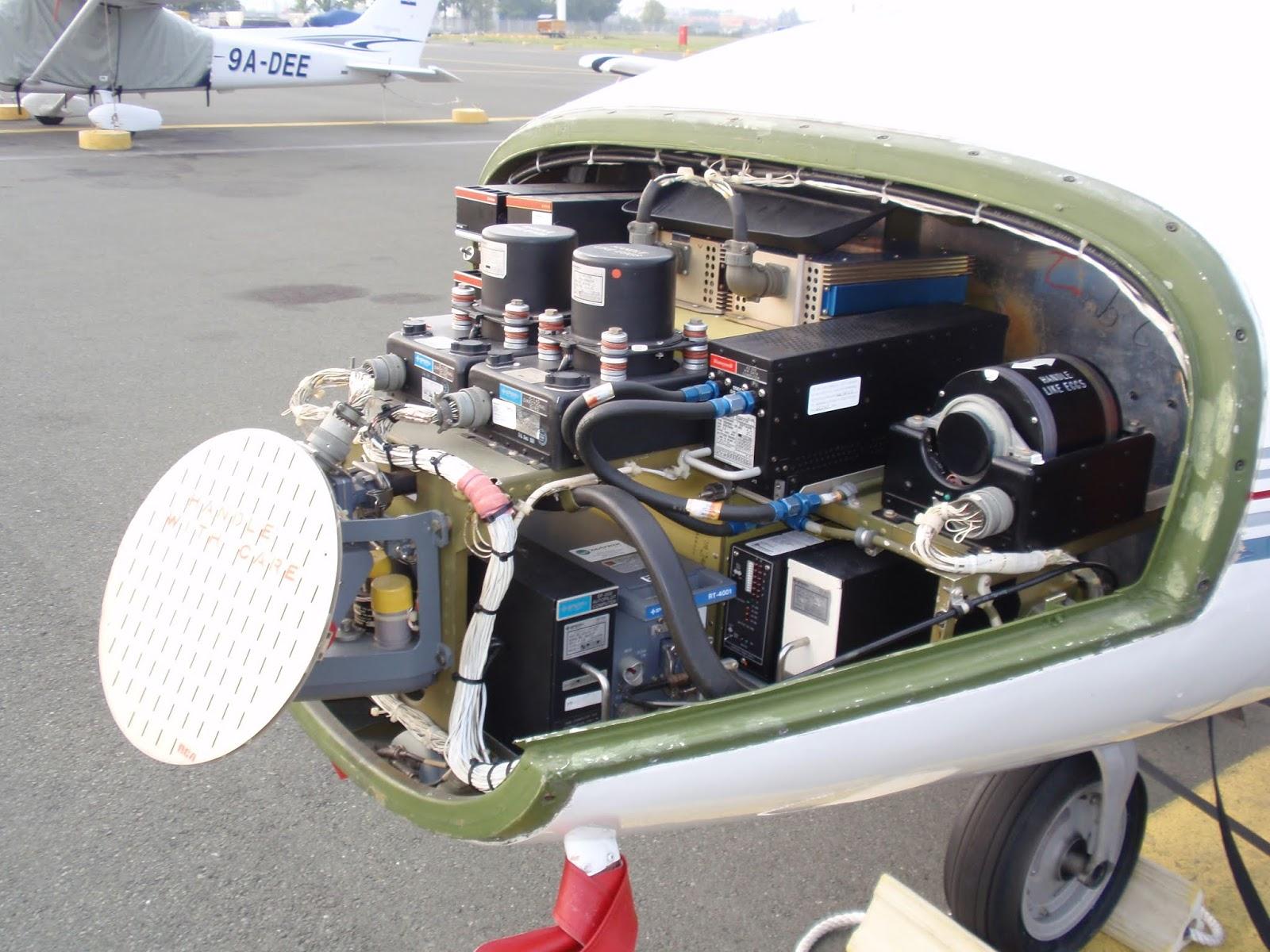 Cessna Citation I weather radar