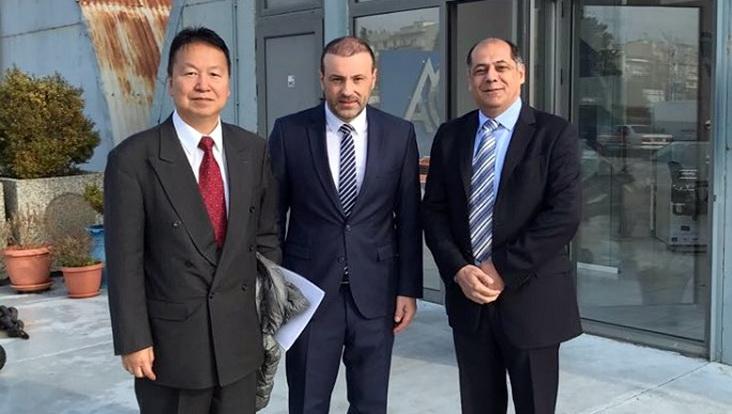 Επίσκεψη του Πρέσβη της Ιαπωνίας στο λιμάνι της Αλεξανδρούπολης