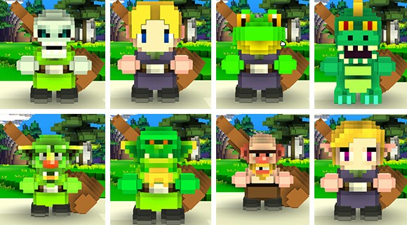 Free Pc game Cube World Characters