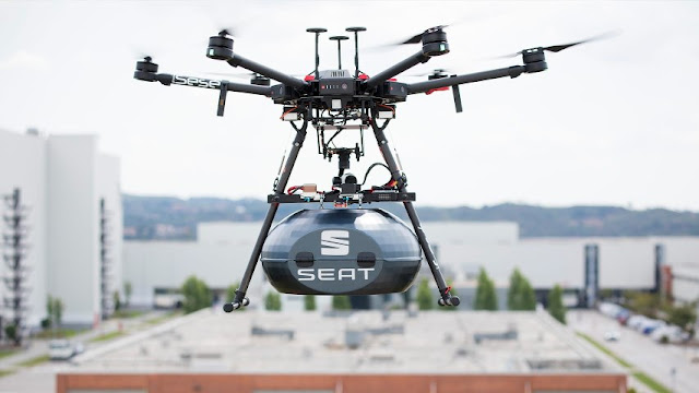 Εργοστάσιο Seat, drone