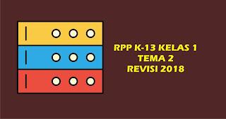 RPP K13 Tema 2 Kelas 1 Revisi Lengkap, RPP K13 Lengkap