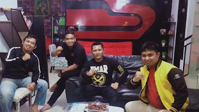 Pertemuan GSP Sulsel dengan Garda Nusantara, Keduanya Komitmen Bangun Generasi Handal