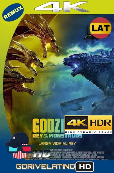 Godzilla II: El Rey de los Monstruos (2019) BDRemux 4K HDR Latino-Ingles MKV