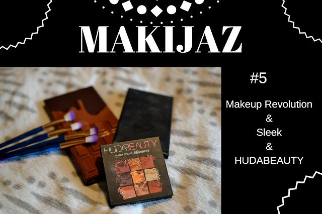 MAKIJAŻ - 2 wersje -  MUR & HUDABEAUTY & SLEEK