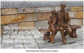 Learn from your failure is a key to success in life