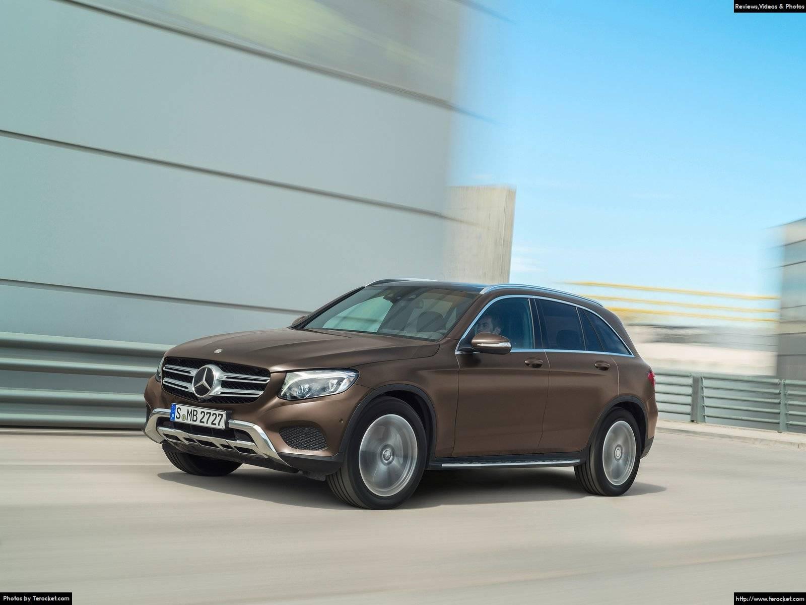 Hình ảnh xe ô tô Mercedes-Benz GLC 2016 & nội ngoại thất