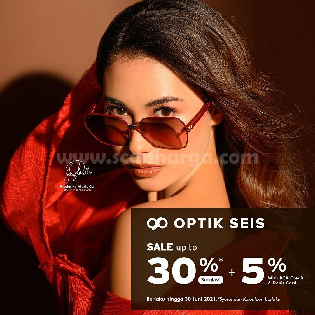 Promo OPTIK SEIS Kartu Kredit BCA Sale Up 30% + Ekstra Diskon 5%