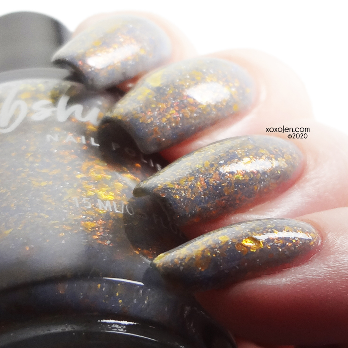 xoxoJen's swatch of KBShimmer Cats & Pajamas