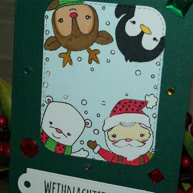 [DIY] Weihnachtstrubel mit Weihnachtsmann & Co.
