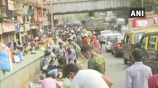 लॉकडाउन के बीच नागपुर में मॉर्निंग वाक पर निकले लोग