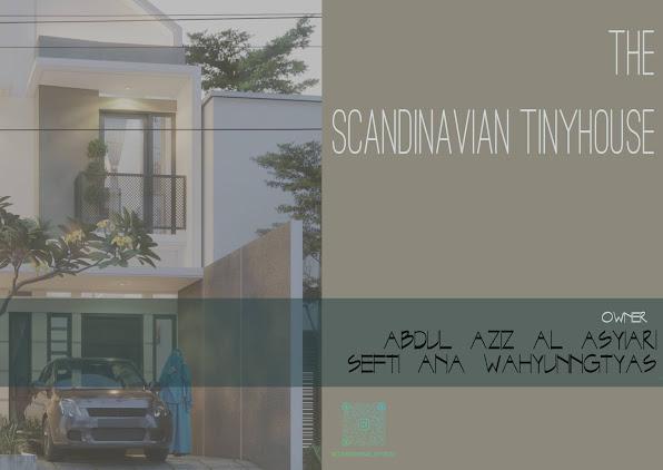 HUNIAN MAKSIMAL, DILAHAN MINIMAL | THE SCANDINAVIAN TINYHOUSE | DESAIN RUMAH LAHAN LEBAR 5,5 METER!
