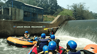 paket rafting sungai cisadane bogor