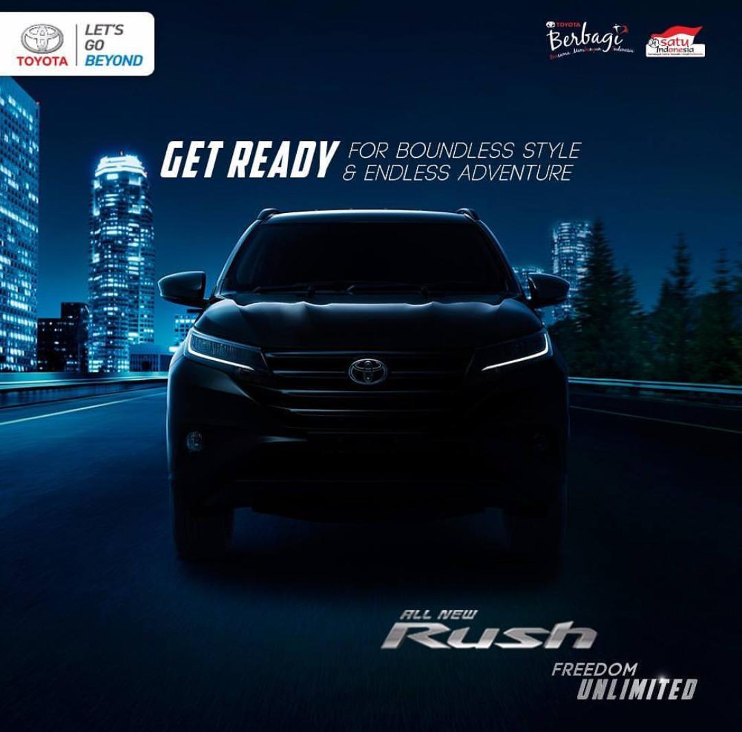 Open Indent New Toyota Rush 2018 Nasmoco Toyota Klaten
