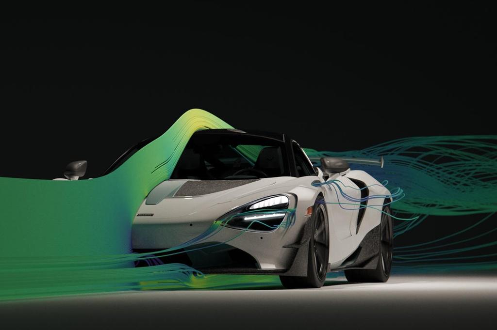 Siêu xe McLaren 720S đầu tiên được tạo ra bằng công nghệ in 3D