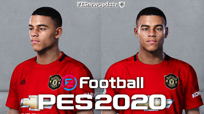 PES 2020 Faces Mason Greenwood by Alief