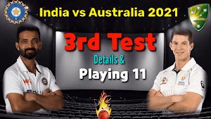 Australia vs India, 3rd Test - Live Cricket Score | Ipl match for today