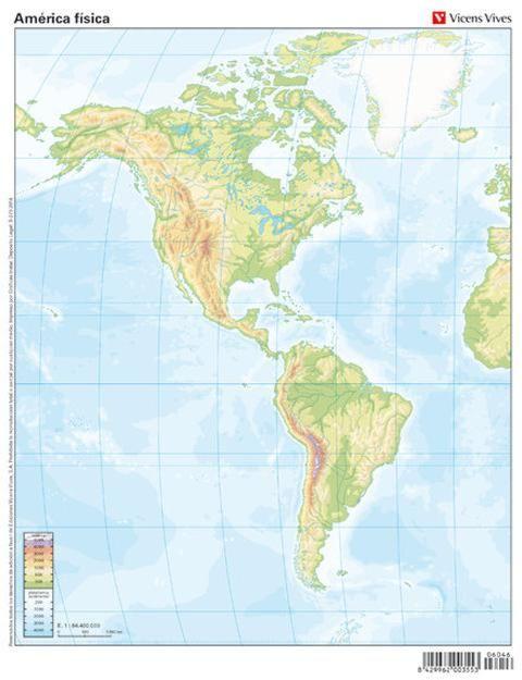 1º Eso Tema 3 El Medio Fisico Los Continentes