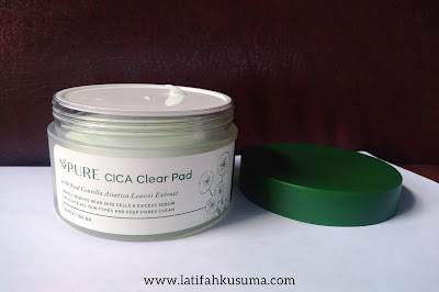 Packaging N'PURE Cica Clear Pad
