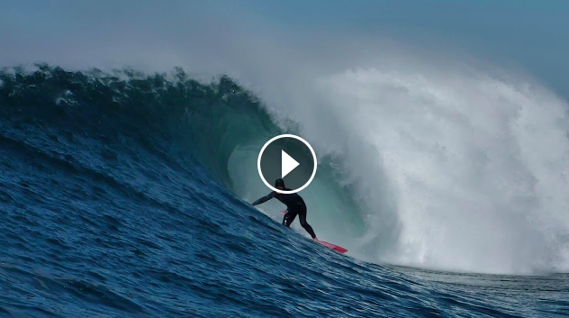 JUST IN Perfect Barrels Round Off A BIG Week Of East Coast Waves