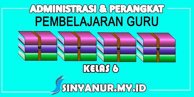 www.sinyanur.my.id Administrasi Perangkat Pembelajaran Kelas 6 SD Kurikulum 2013