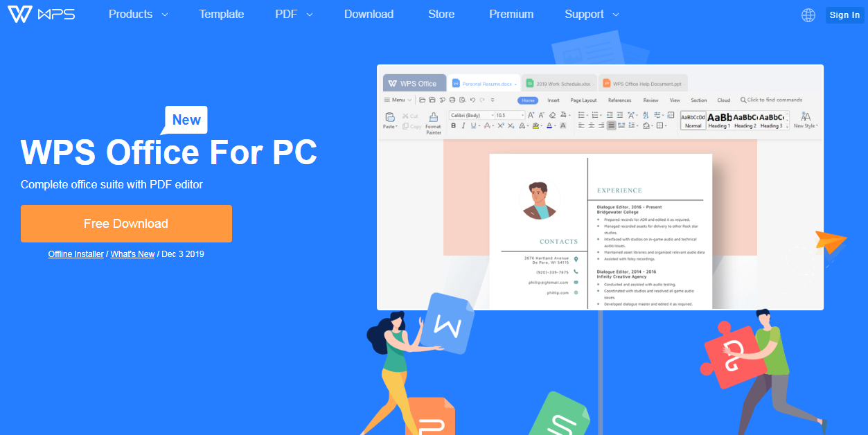 How To Use Wps Office Pc Desktop And Laptop Blogger Knowledge