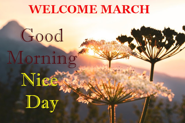 Wish You  Good Morning Welcome March.