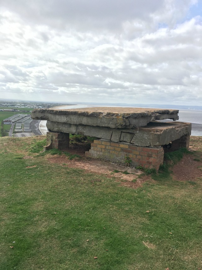 a-walk-on-Brean-Down-world-war-two-pill-box