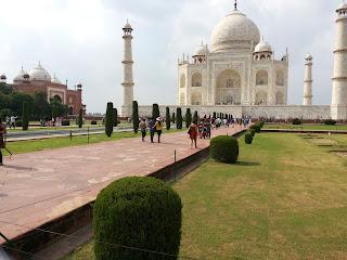 Namaste India - Taj Mahal