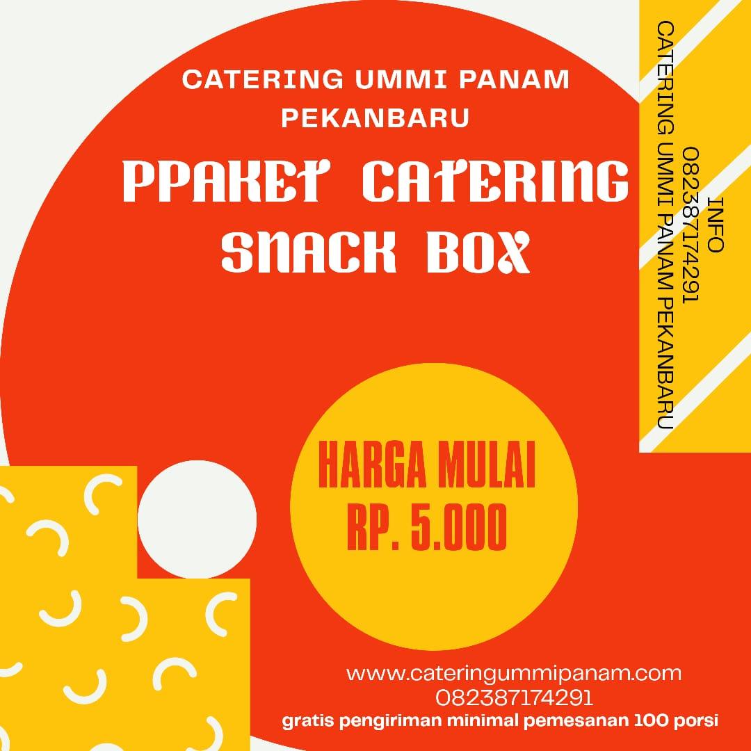Snack/Makanan Ringan Catering Ummi Panam Pekanbaru
