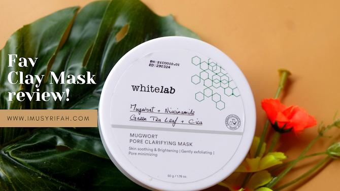 Review Whitelab Mugwort Pore Clarifying Mask
