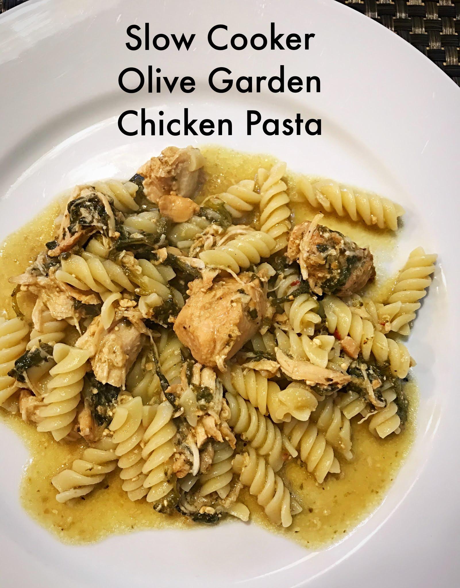 Slow Cooker Olive Garden Chicken Pasta Julie S Creative Lifestyle