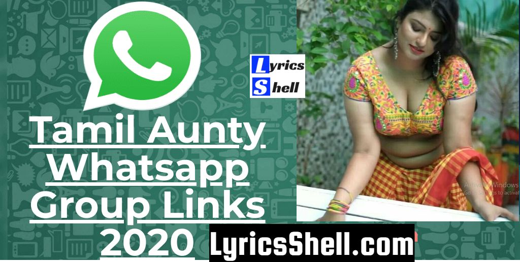 (Updated) Tamil Aunty Whatsapp Group Links 2020