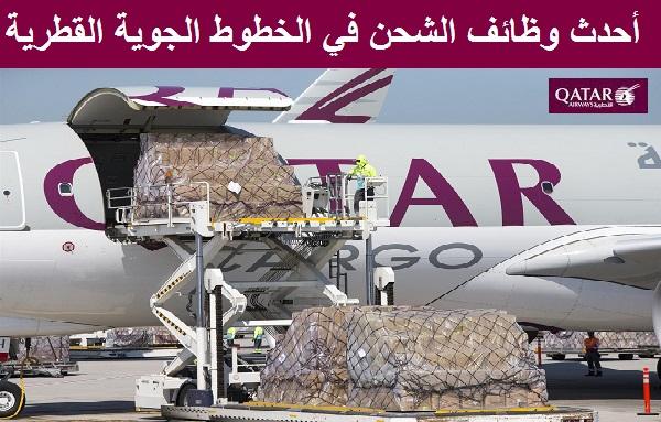 أحدث وظائف الشحن في الخطوط الجوية القطرية برواتب سخية
