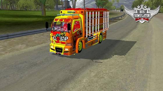 mod truk canter anti gosip non terpal