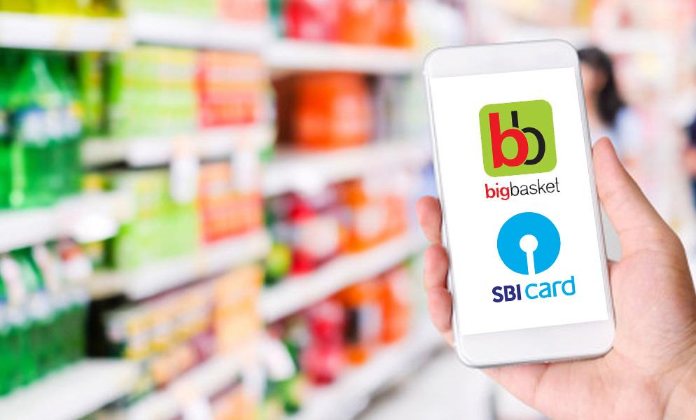 SBI Card Bigbasket offer