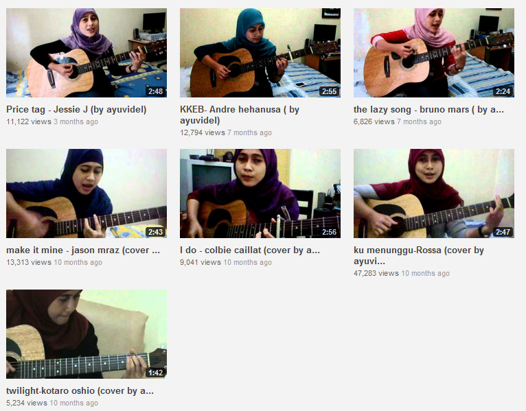 Kumpulan Video Ayu Videlia Youtube